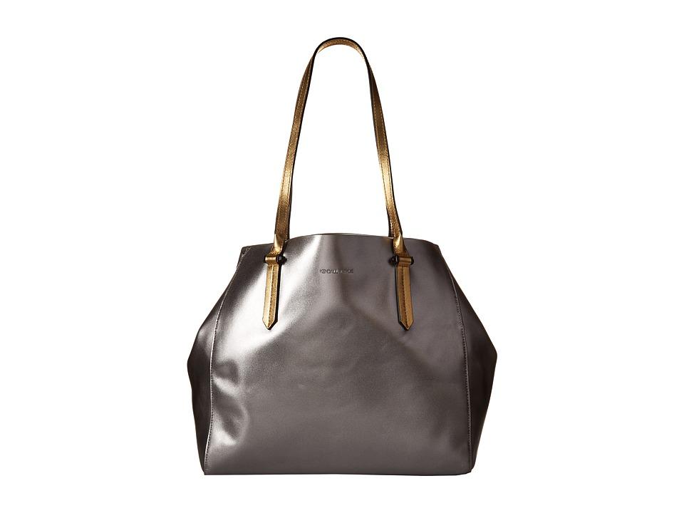 KENDALL + KYLIE - Izzy Tote (Gunmetal) Tote Handbags