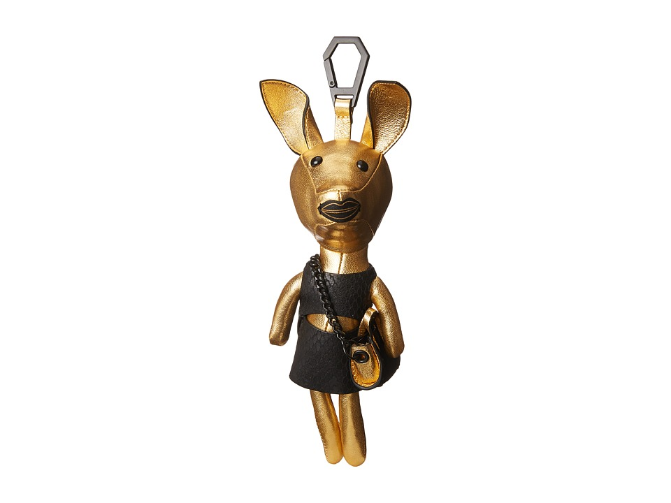 KENDALL + KYLIE - Sophie Dog Charm (Gold/Black) Dog Accessories