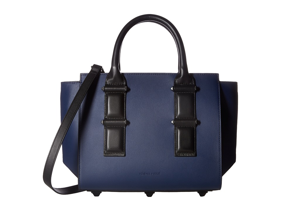 KENDALL + KYLIE - Katherine Medium Satchel (Midnight Navy) Satchel Handbags
