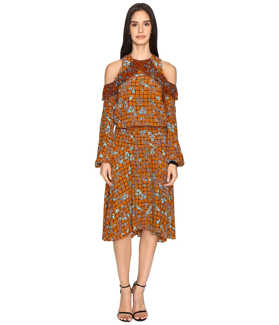 Preen Line - Kim Dress (Cinammon Floral) Women's Dress