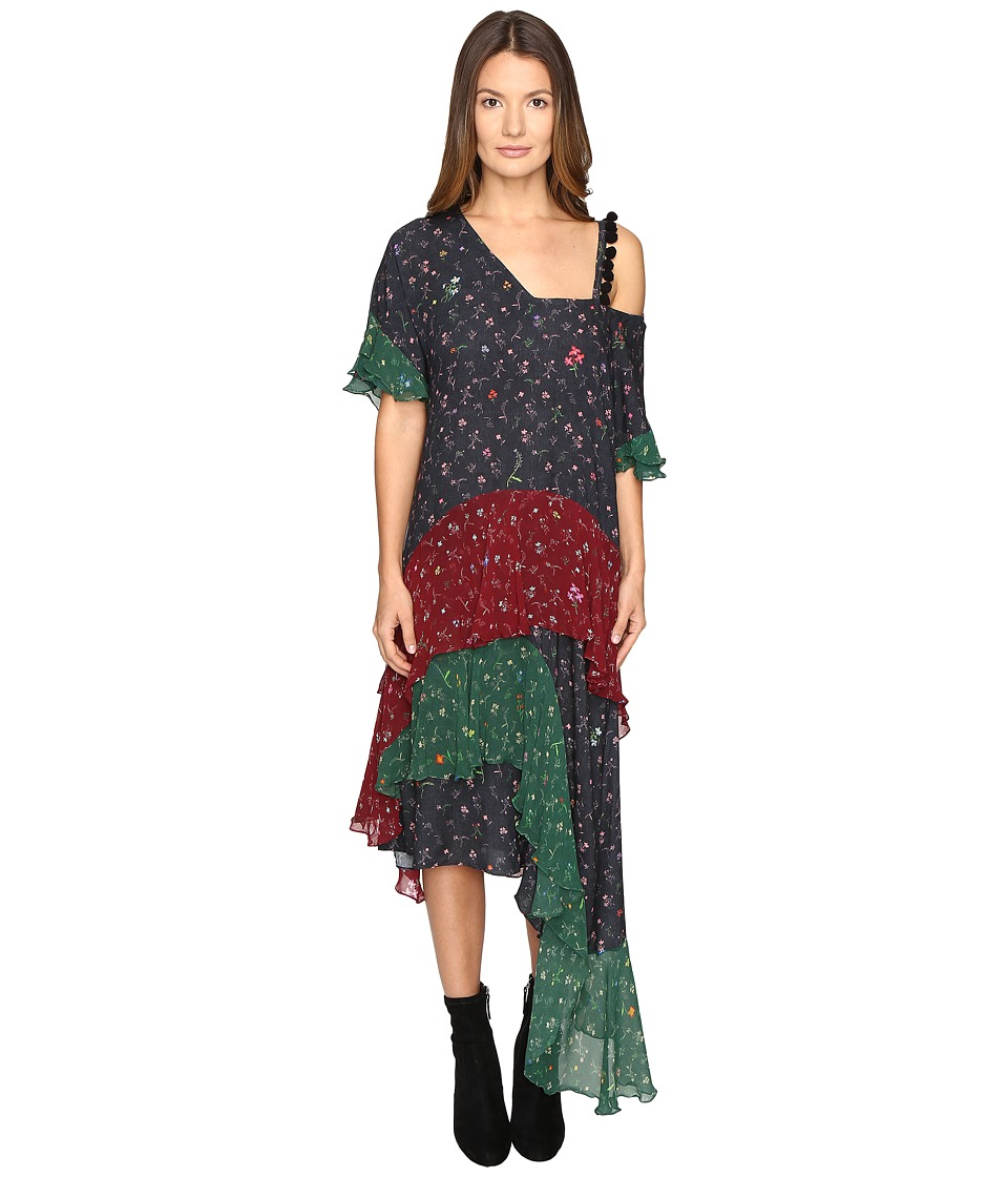 Preen Line - Priya Dress w/ Pompoms (Mini Flower) Women's Dress