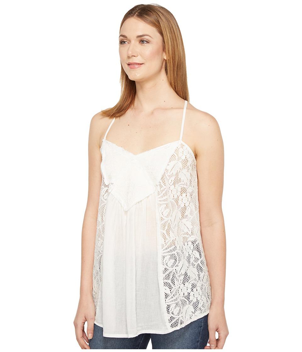 Roper - 0904 Cotton Crepe Cami (White) Women's Sleeveless