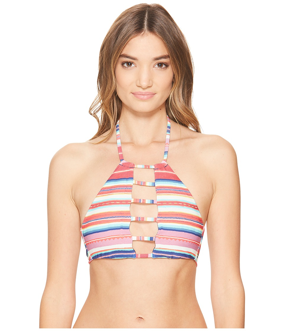 Billabong - Baja Babe High Neck Bikini Top (Multi) Women's Swimwear