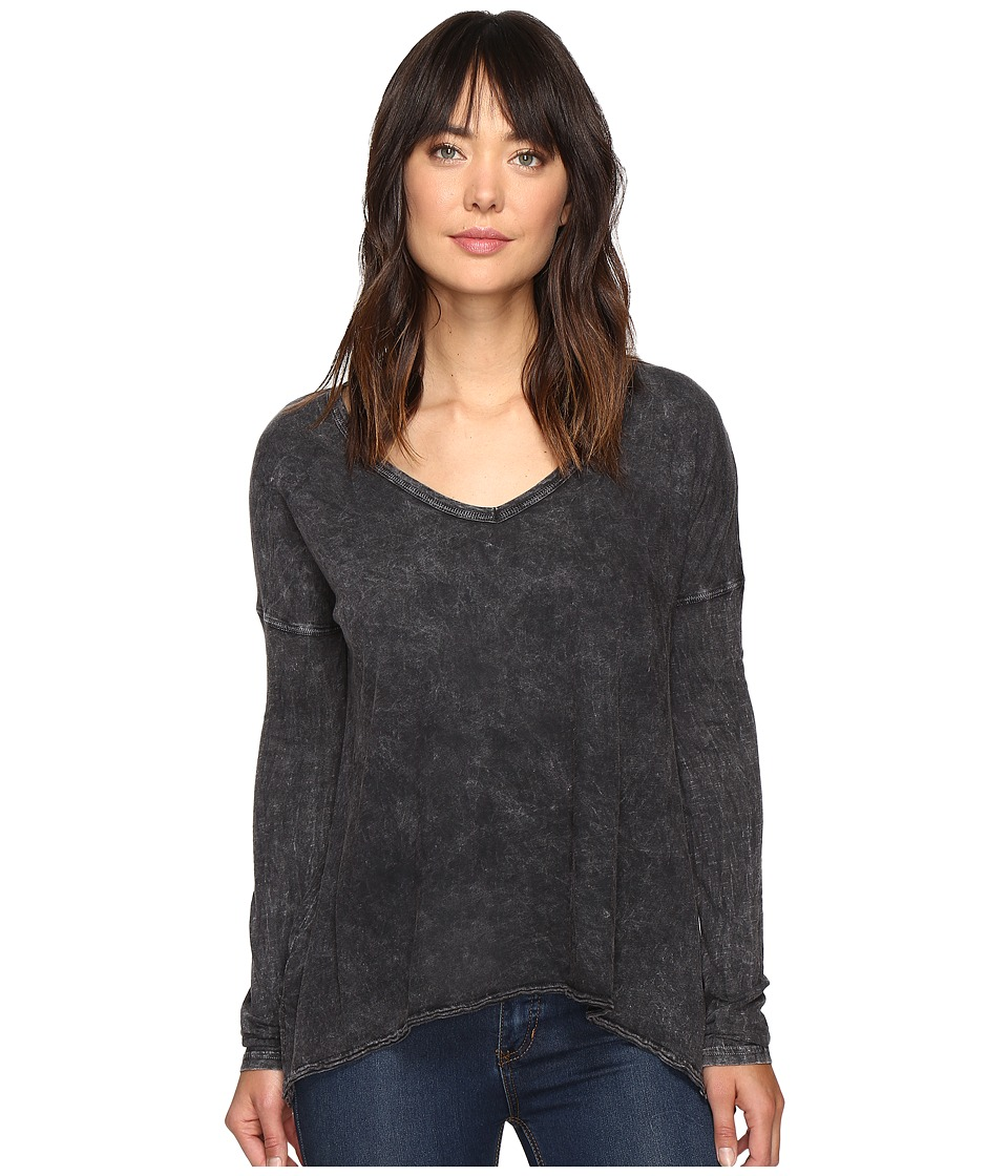 Billabong Many Ways Long Sleeve Tee (Off-Black) Women