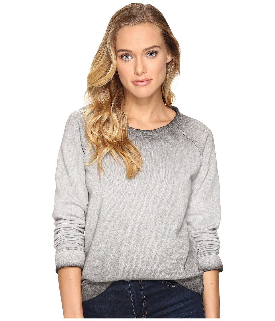 Billabong - Its Alright Pullover Crew (Off-Black) Women's Long Sleeve Pullover