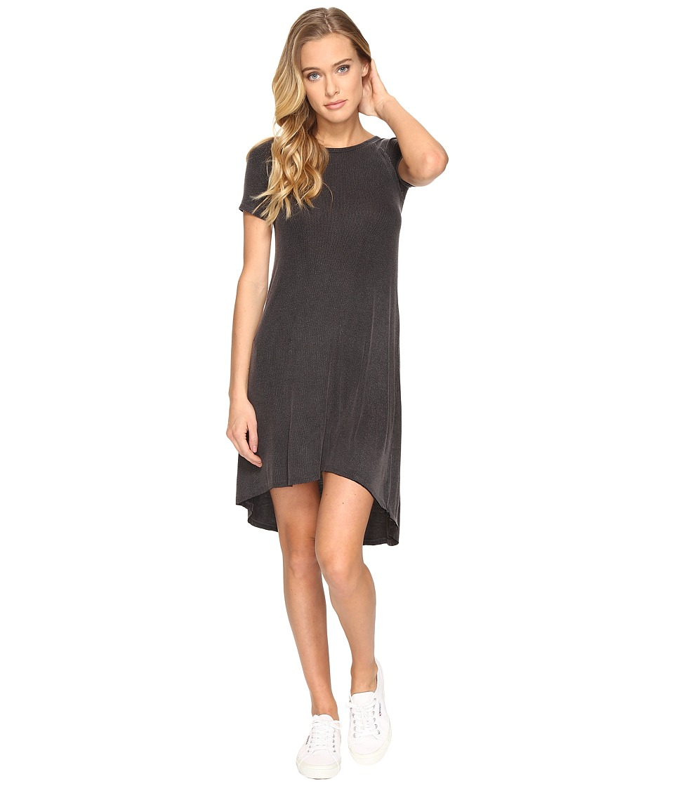 Billabong - Get It Tee Dress (Off-Black) Women's Dress