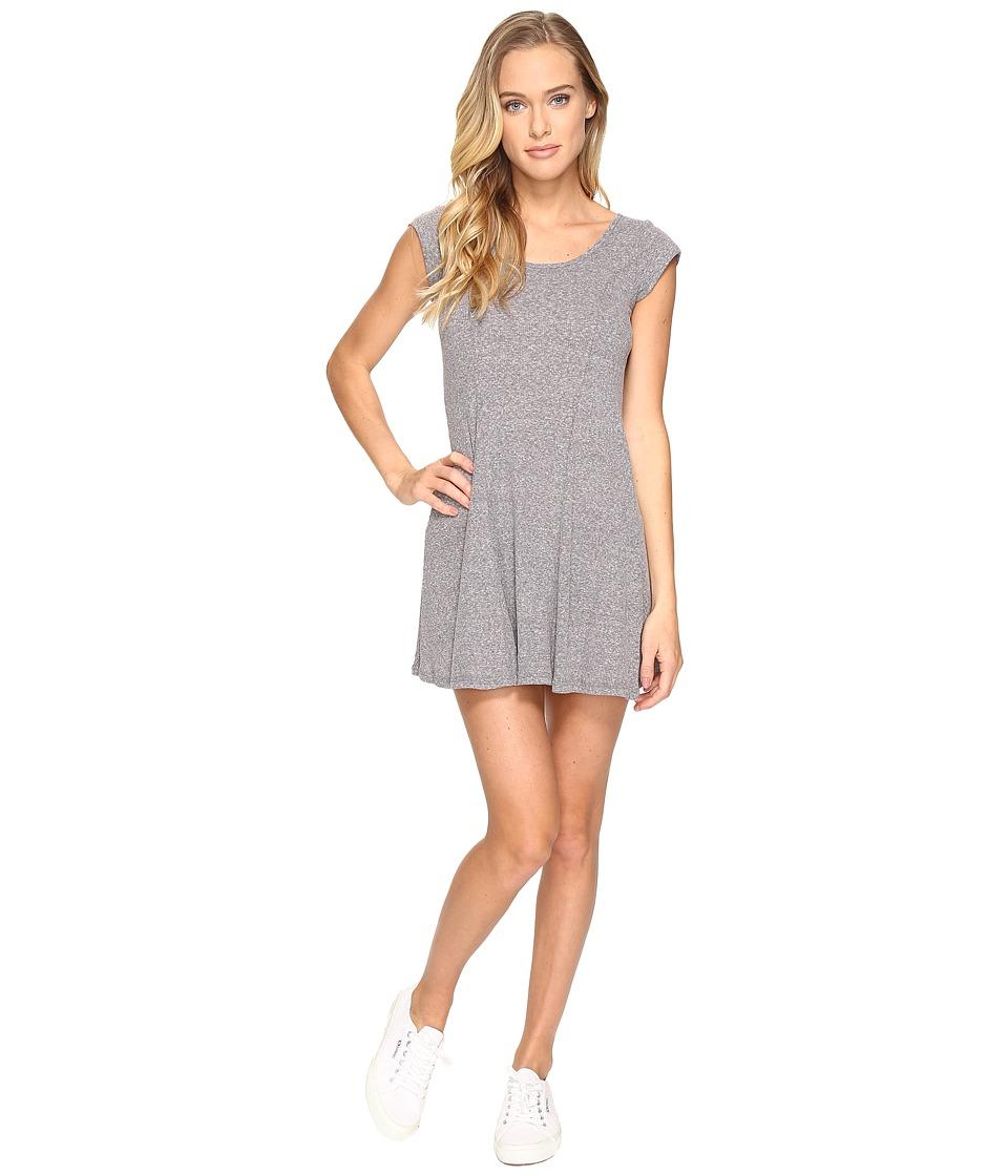 Billabong - Same Love Dress (Dark Athletic Grey) Women's Dress