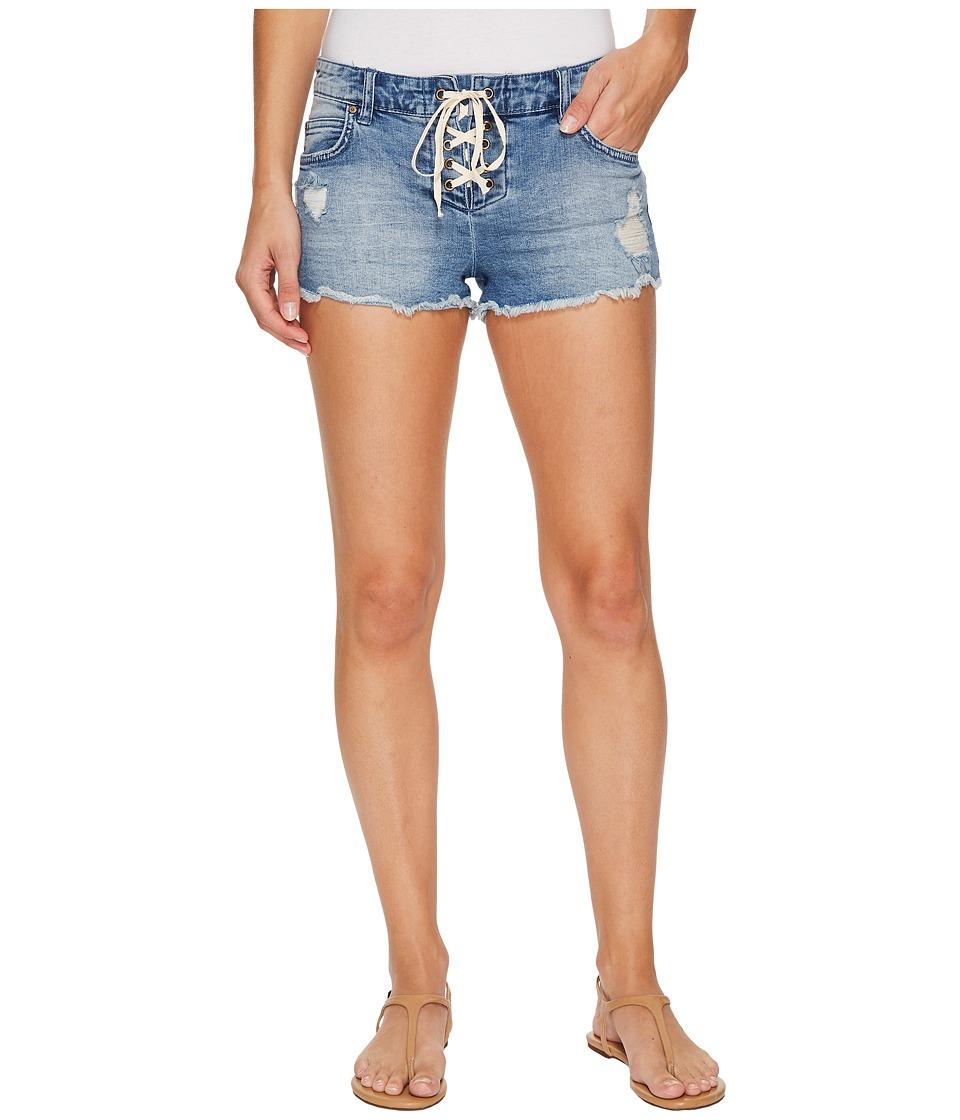 Billabong - Lite Hearted Shorts (Beach Blue) Women's Shorts