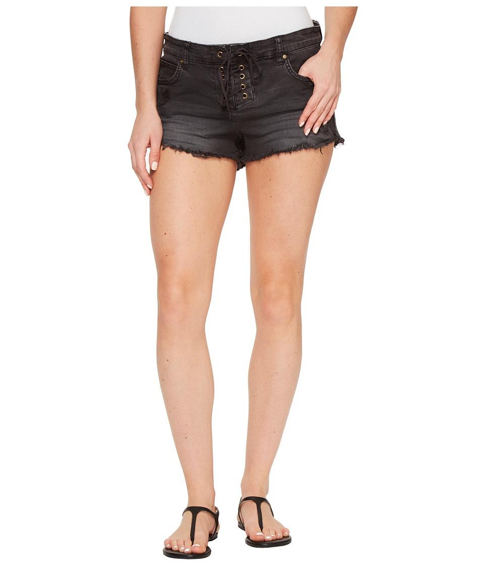 Billabong - Lite Hearted Shorts (Black Pebble) Women's Shorts