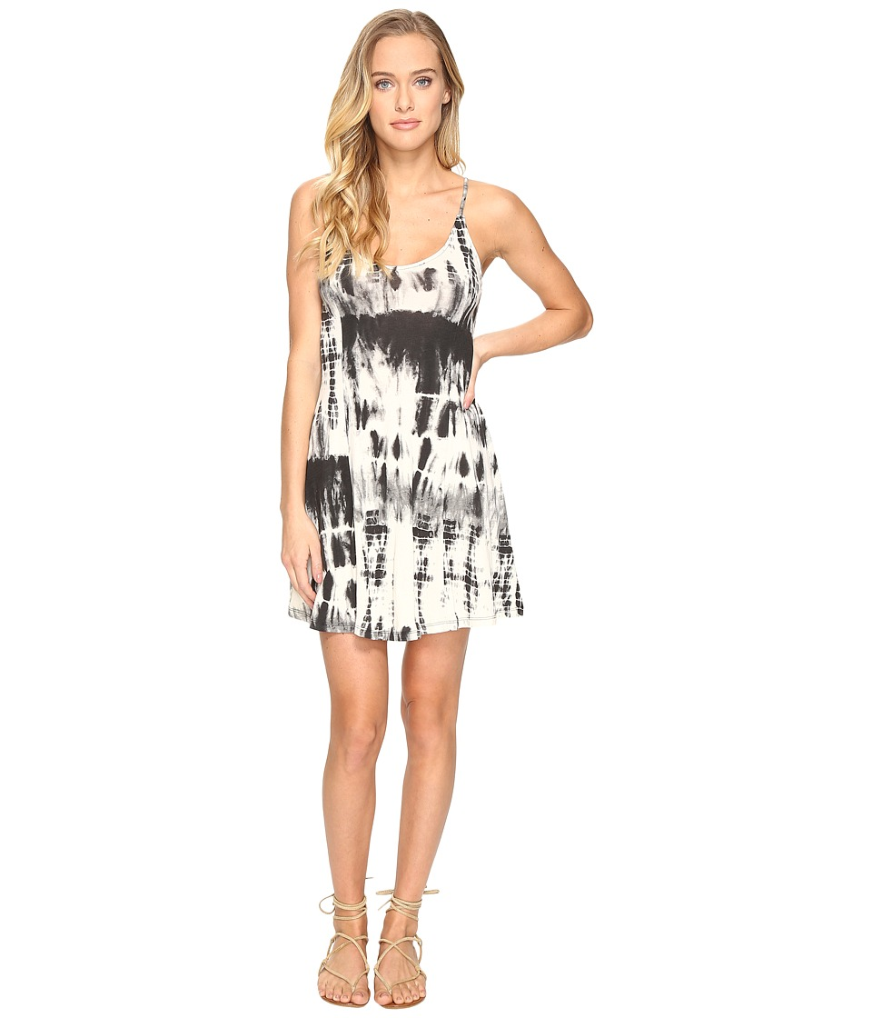 Billabong - Last Chance Dress (Black/White) Women's Dress