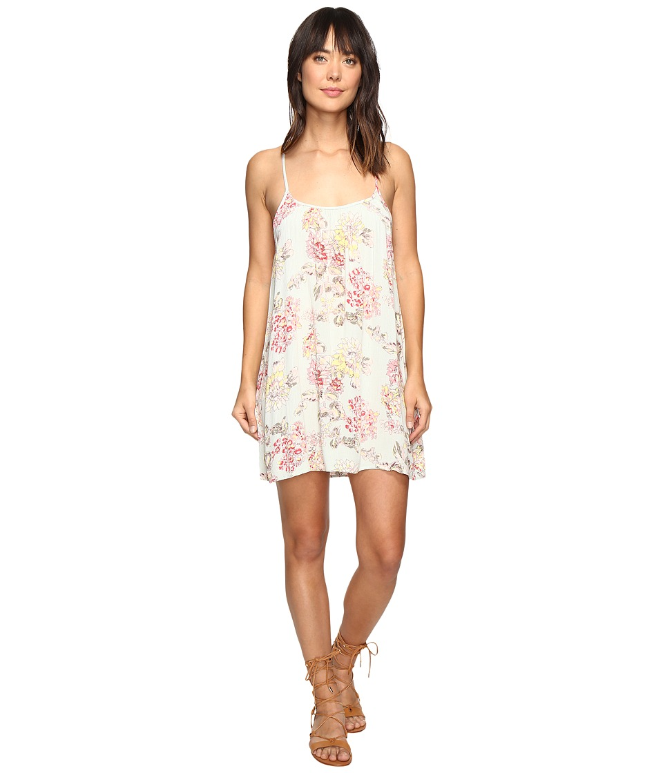 Billabong - Shining Sun Dress (Aloe) Women's Dress
