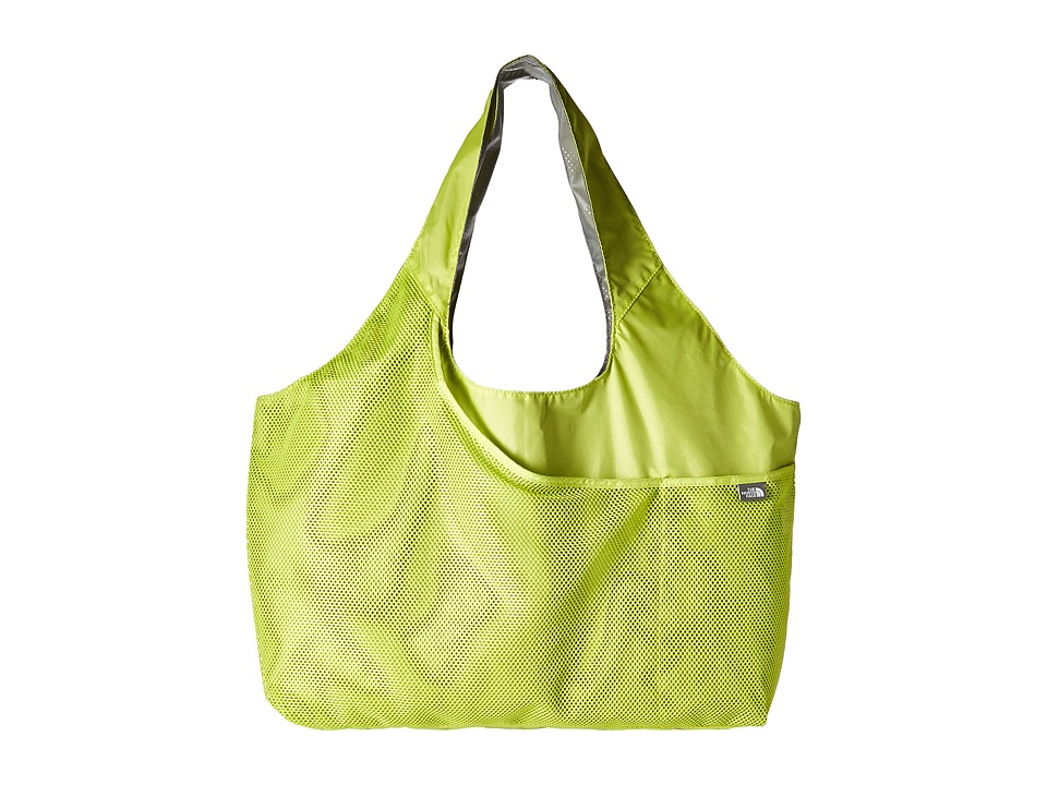 The North Face - On The Run Bag (Wild Lime/Zinc Grey) Tote Handbags