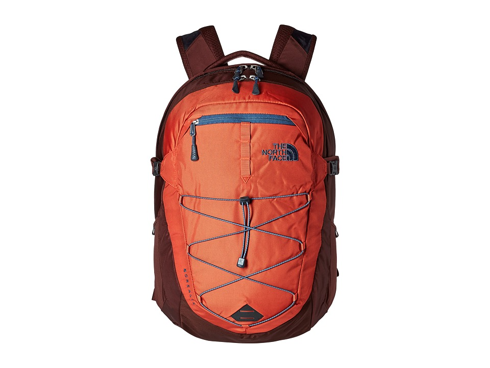 The North Face - Borealis Backpack (Tibetan Orange/Sequoia Red) Backpack Bags