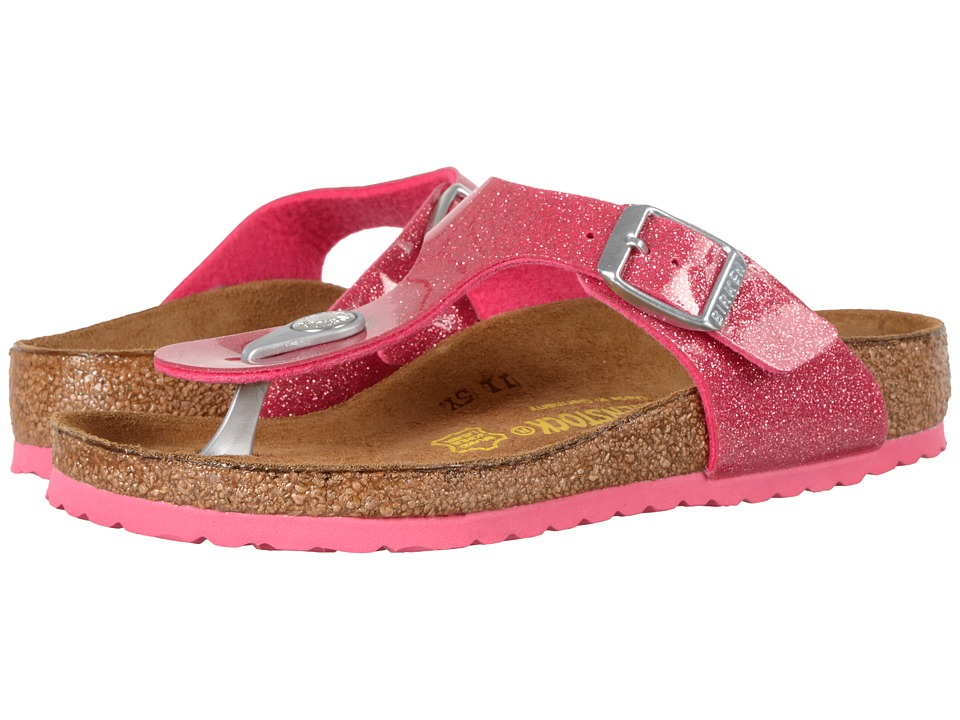 Birkenstock Kids - Gizeh (Little Kid/Big Kid) (Magic Galaxy Bright Rose Birko-Flor) Girls Shoes