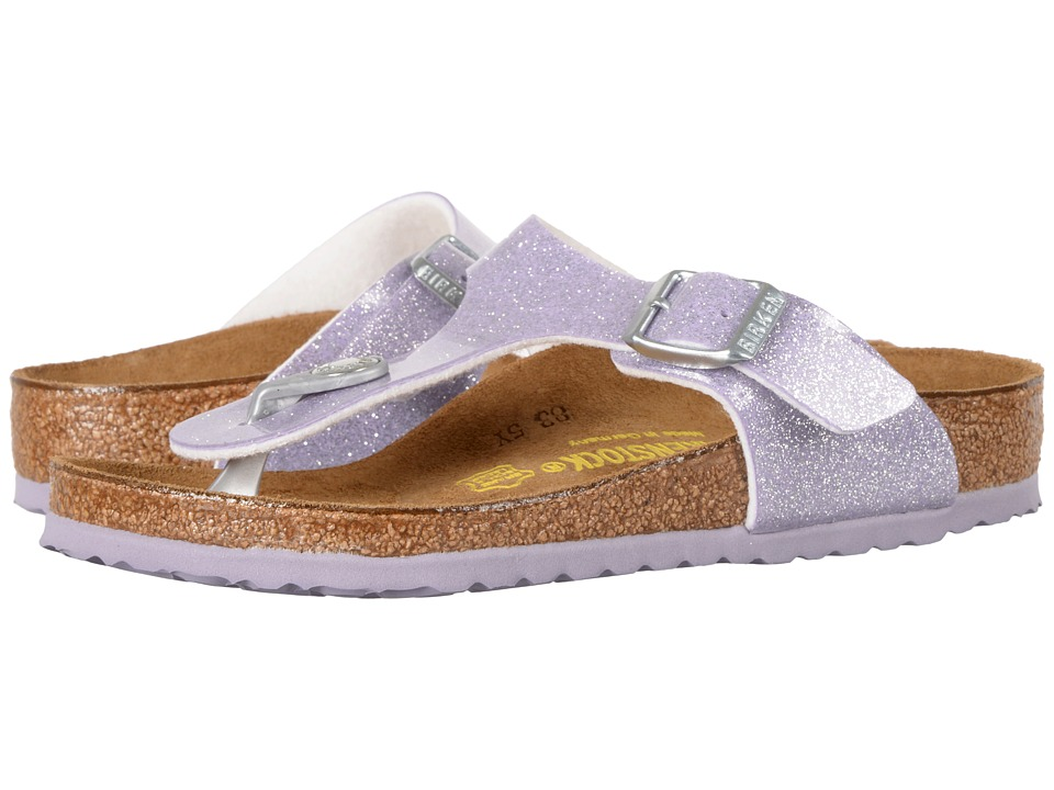 Birkenstock Kids - Gizeh (Little Kid/Big Kid) (Magic Galaxy Lavender Birko-Flor) Girls Shoes