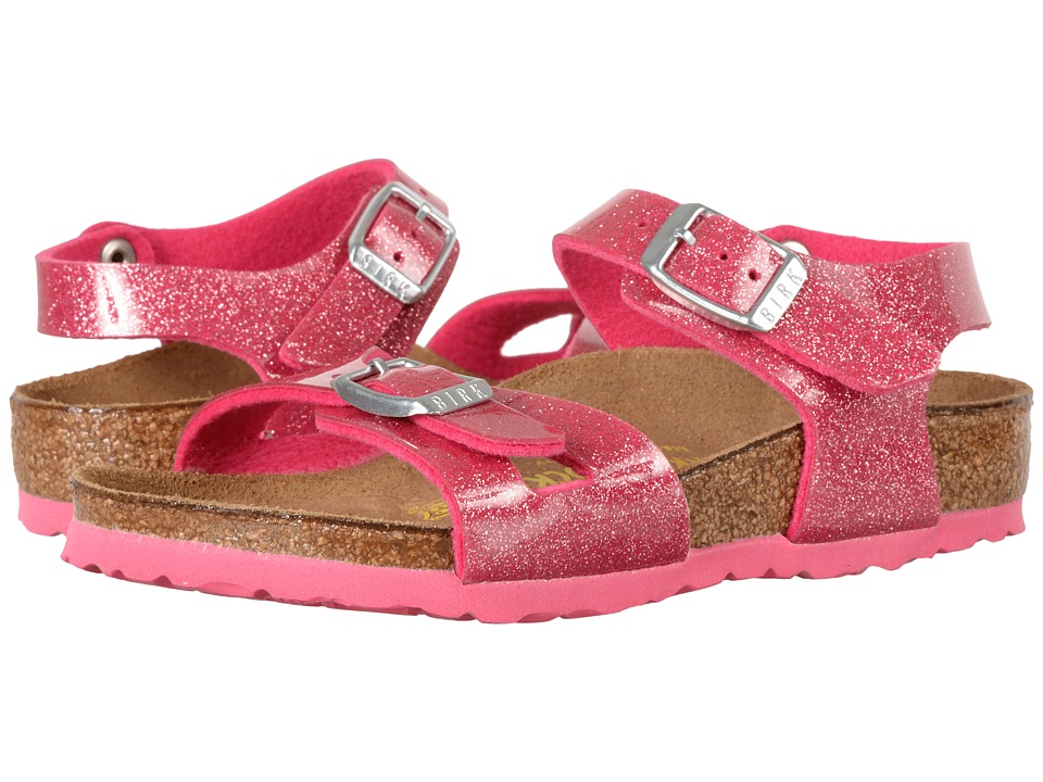 Birkenstock Kids - Rio (Toddler/Little Kid/Big Kid) (Magic Galaxy Rose Birko-Flor) Girls Shoes
