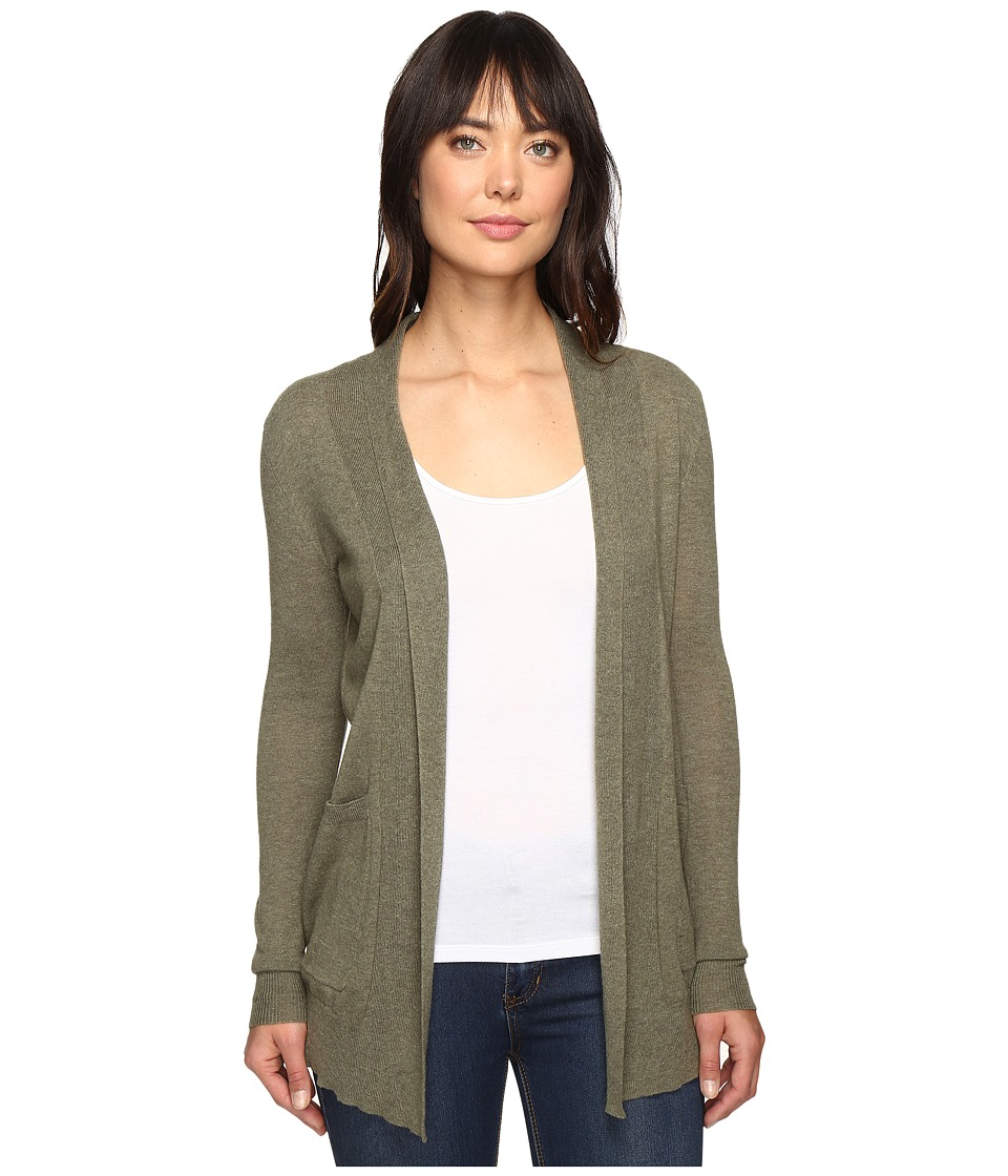 Billabong - Line Games Cardigan (Canteen) Women's Sweater