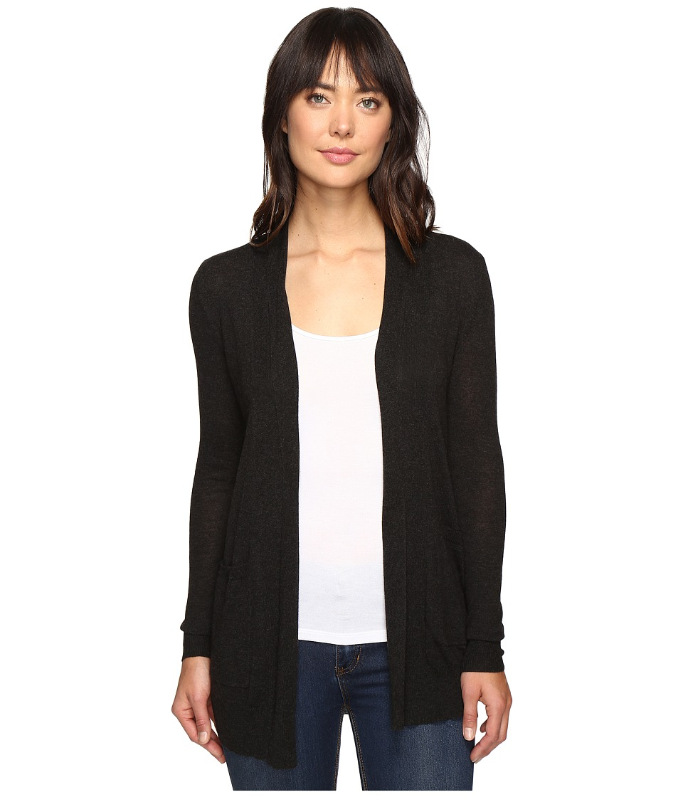 Billabong - Line Games Cardigan (Off-Black) Women's Sweater