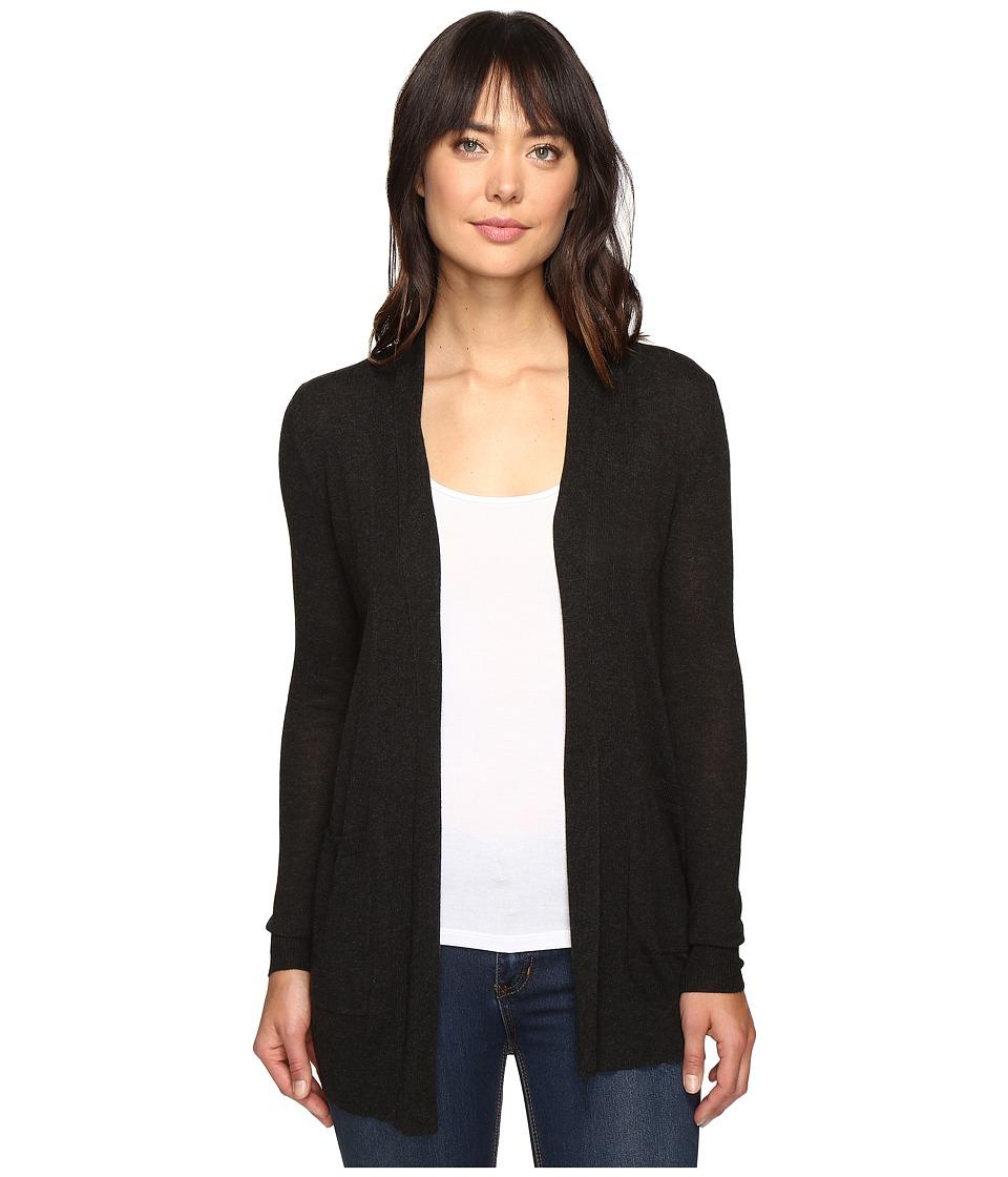 Billabong - Line Games Cardigan (Off-Black) Women's Sweater