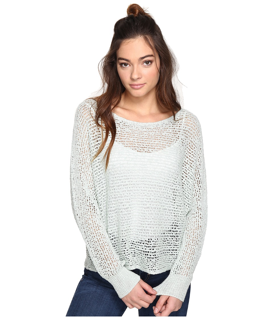 Billabong - Dance with Me Sweater (Aloe) Women's Sweater