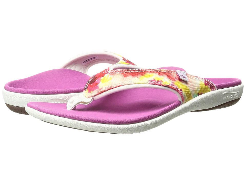 Spenco - Yumi English Bouquet (Purple) Women's Sandals
