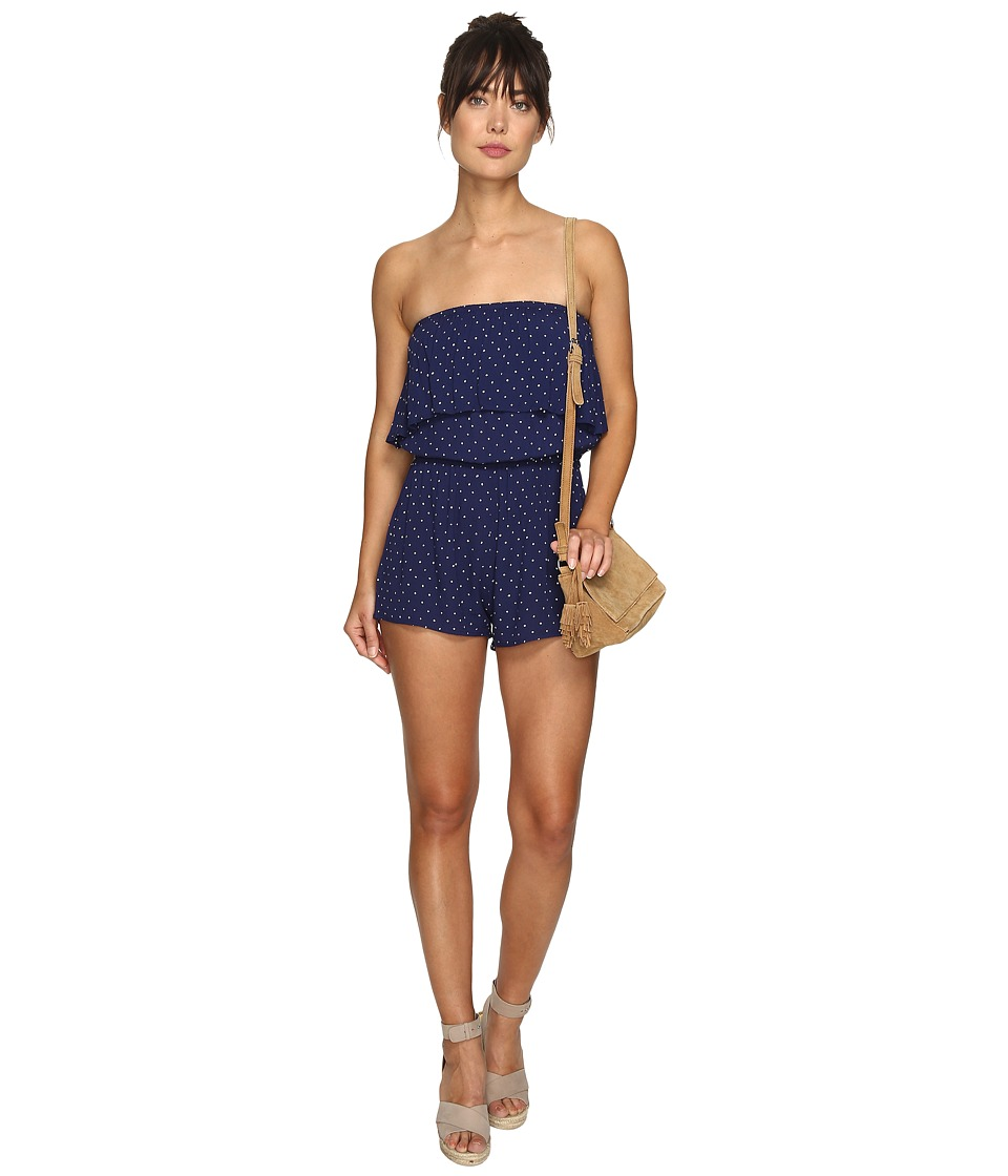 Billabong - New Story Romper (Starry Night) Women's Jumpsuit & Rompers One Piece