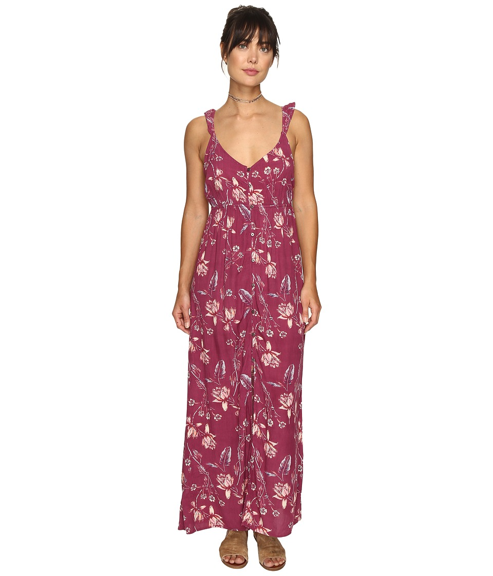Billabong - First Dreamer Maxi Dress (Sweet Plum) Women's Dress