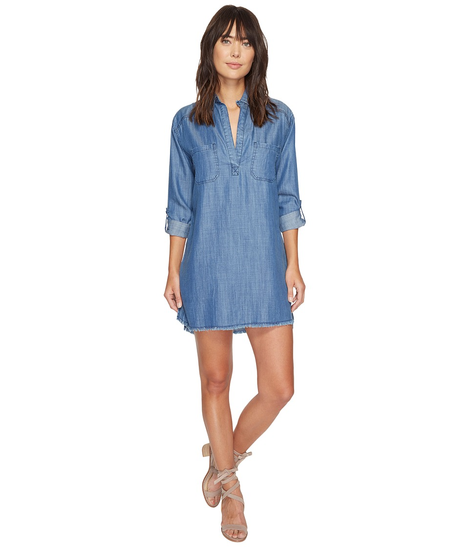 Billabong - Wandering Blues Shirtdress (Chambray) Women's Dress