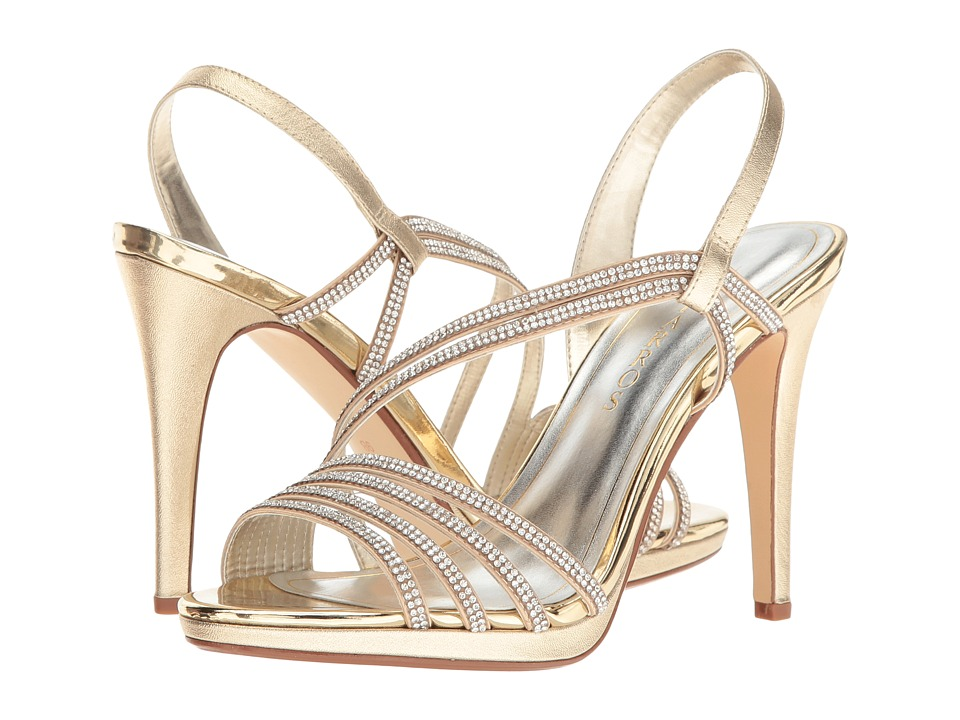 Caparros Gazelle (Gold Metallic) High Heels