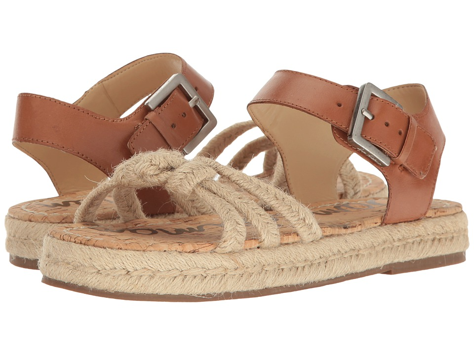 Sam Edelman - Avery (Saddle/Natural) Women's Dress Sandals