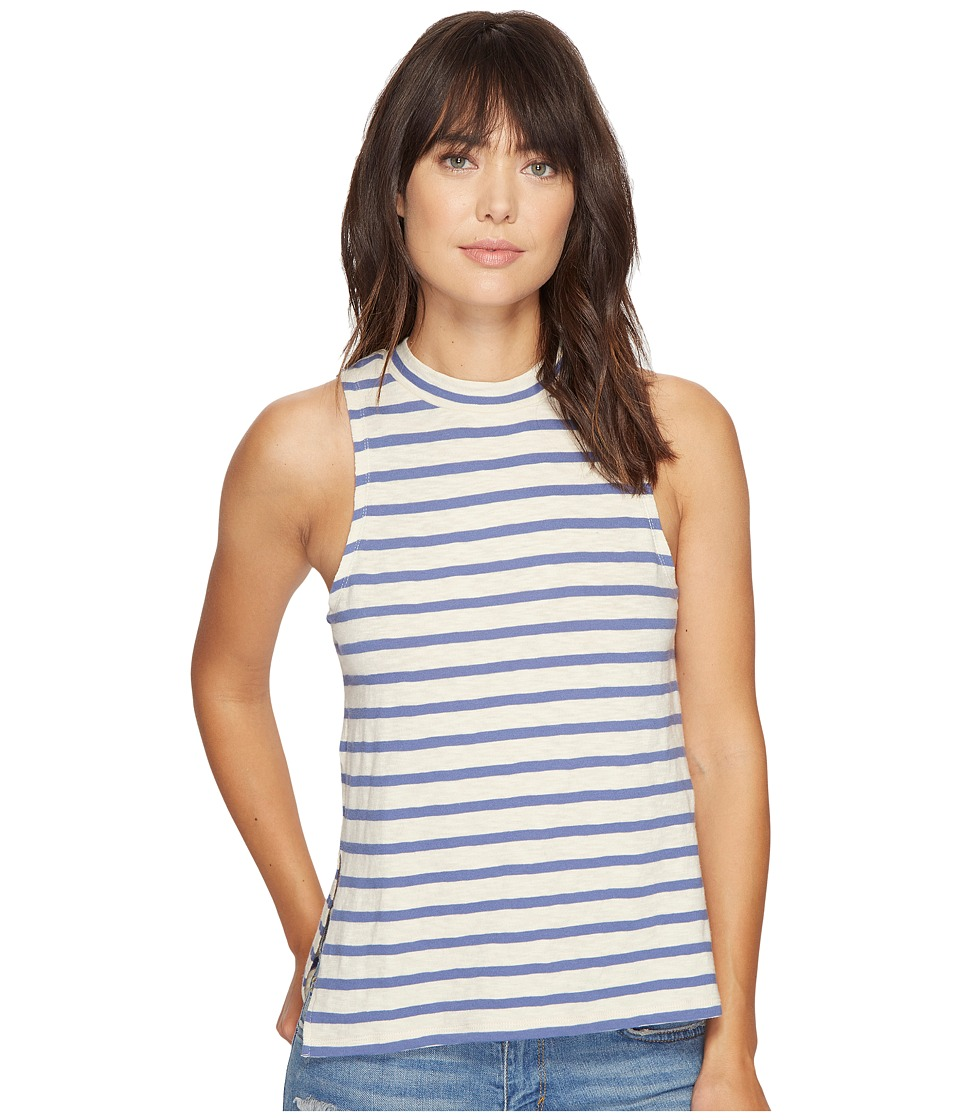 Billabong - Your Eyes Muscle Tee (White Cap) Women's Sleeveless