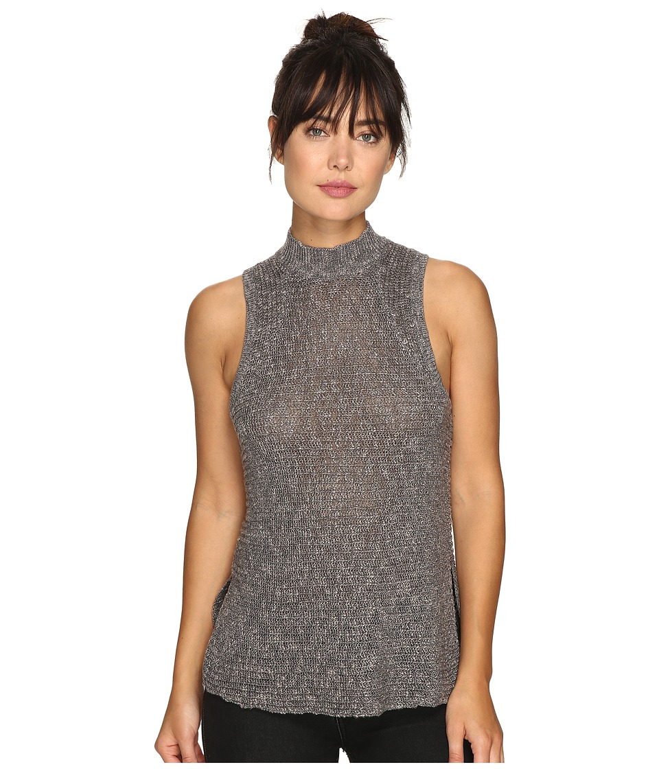 Billabong - Cross My Heart Sleeveless Sweater (Dark Athletic Grey) Women's Sleeveless