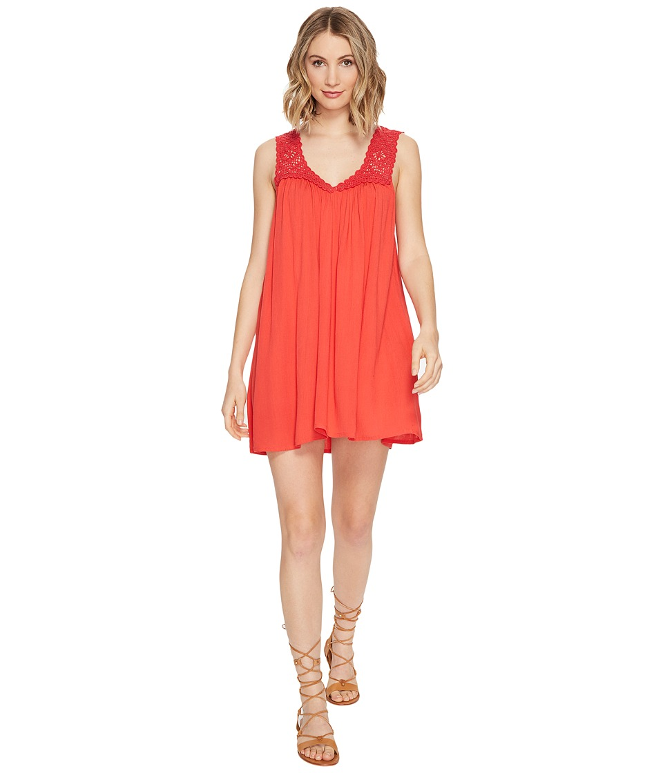 Billabong - After All Dress (Sunset Red) Women's Dress