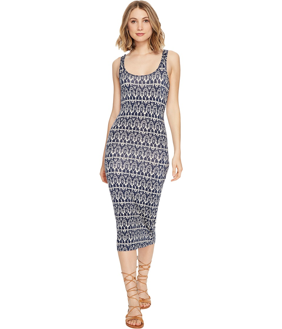 Billabong - Share Joy Midi Dress (Deep Sea Blue) Women's Dress