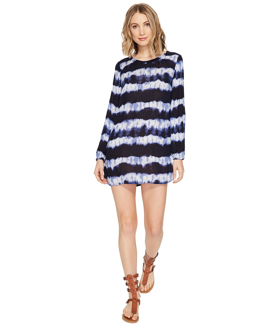 Billabong - Line Up Dress (Deep Sea Blue) Women's Dress