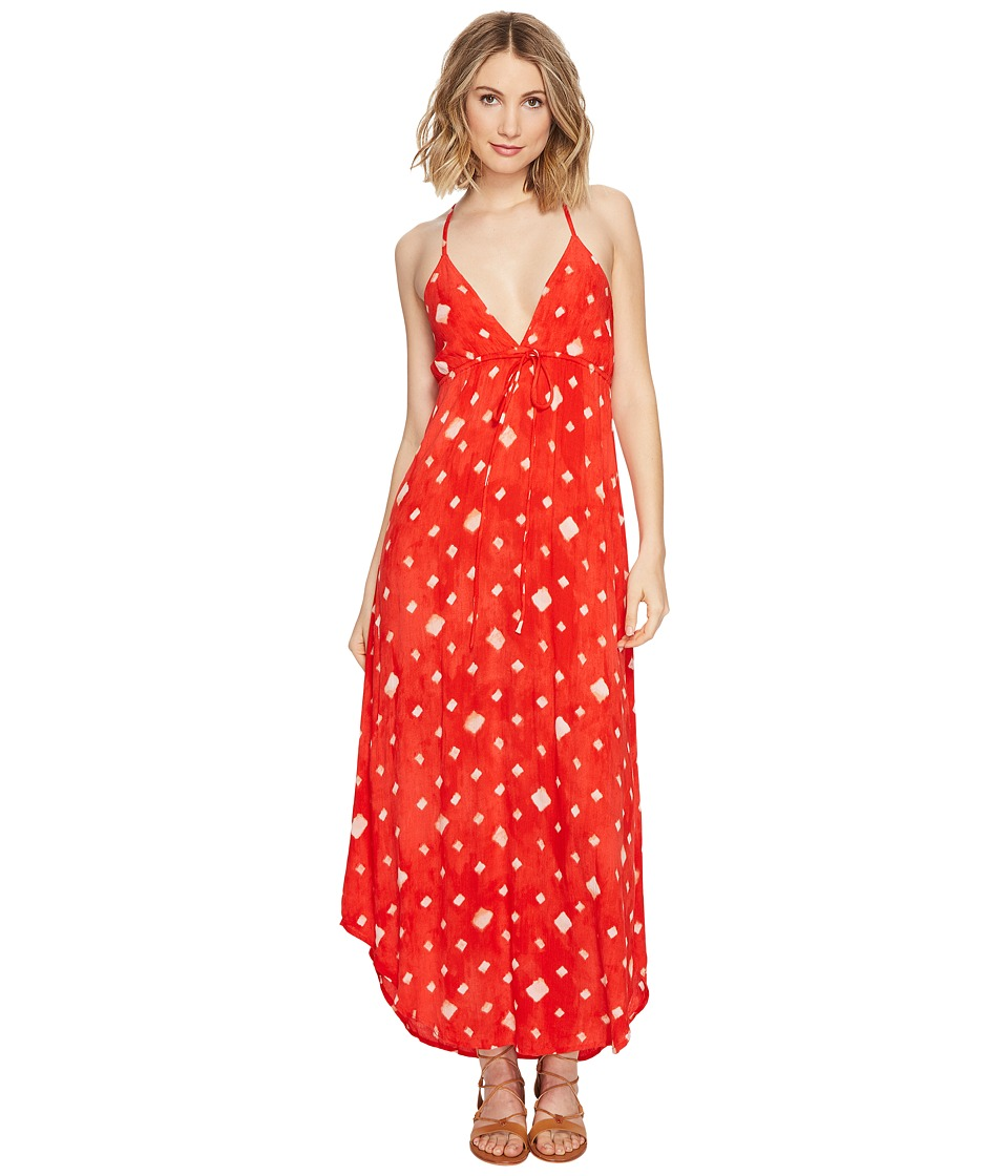 Billabong - Don't Mind Maxi Dress (Sunset Red) Women's Dress