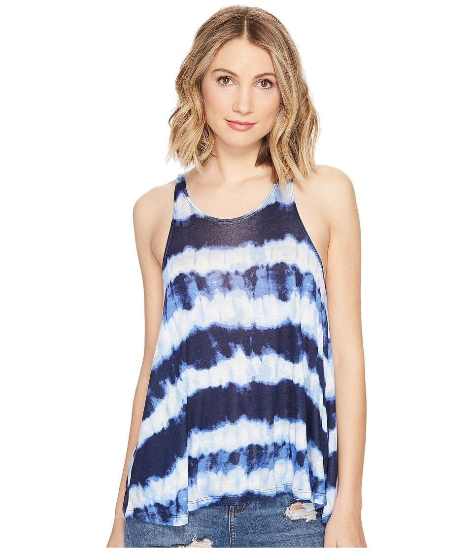 Billabong - Be Gone Tank Top (Deep Sea Blue) Women's Sleeveless