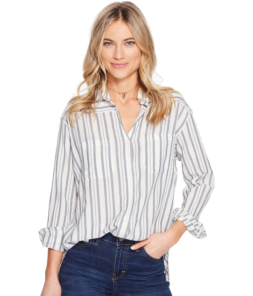 Billabong - Easy Moves Long Sleeve Shirt (Capri) Women's Long Sleeve Button Up