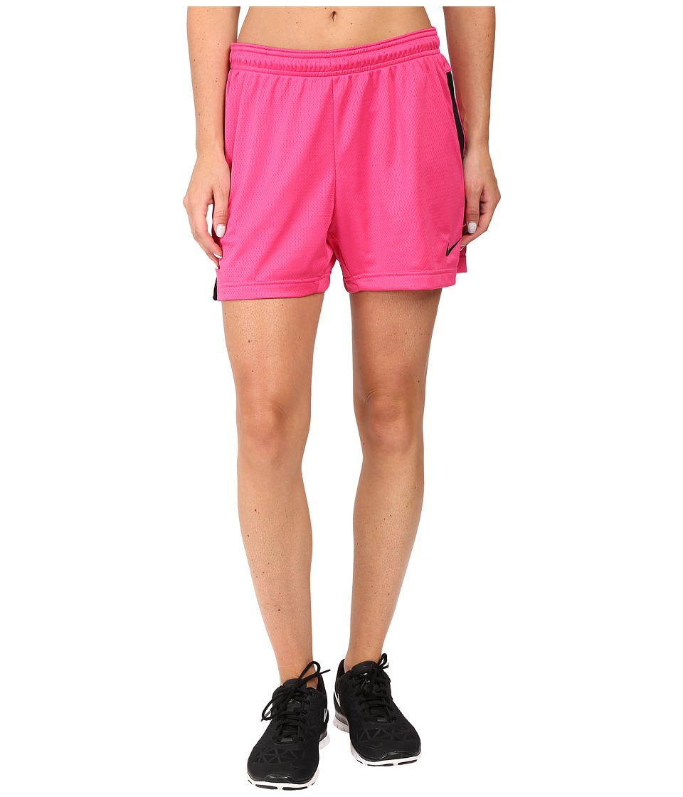 Nike - Academy Knit Short (Vivid Pink/Black) Women's Shorts