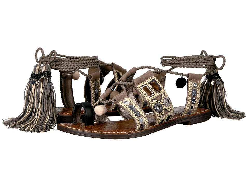 Sam Edelman - Gretchen (Putty/Black/Natural Multi) Women's Sandals