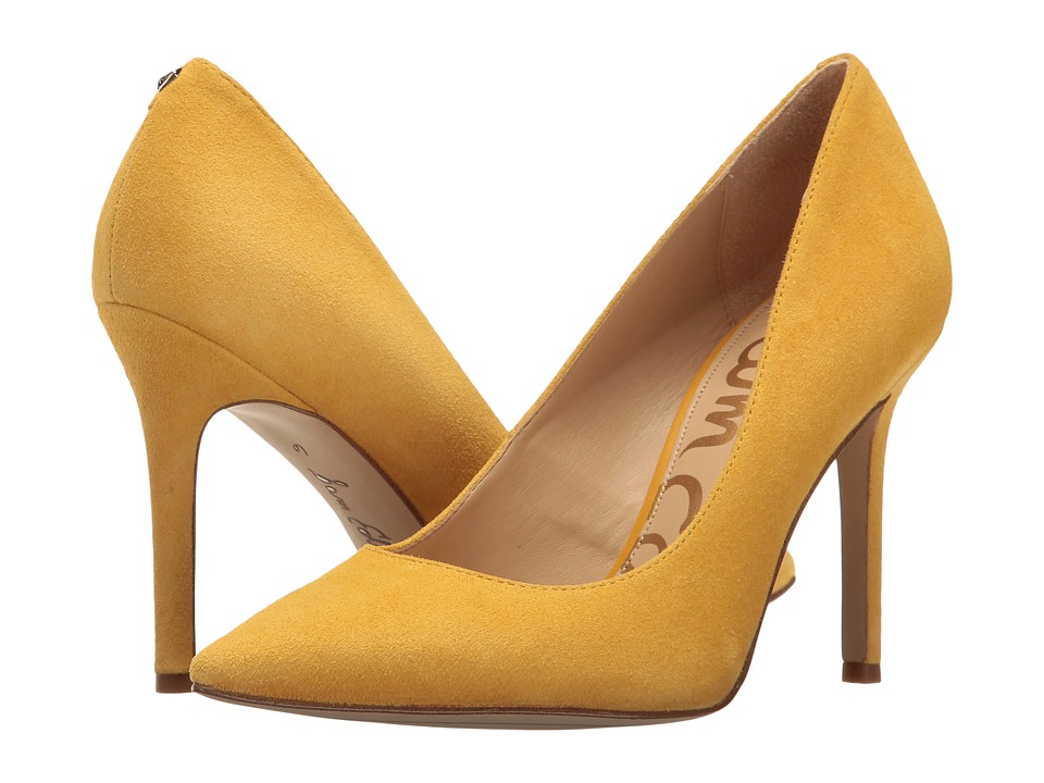Sam Edelman - Hazel (Sunset Yellow Kid Suede Leather) Women's Shoes