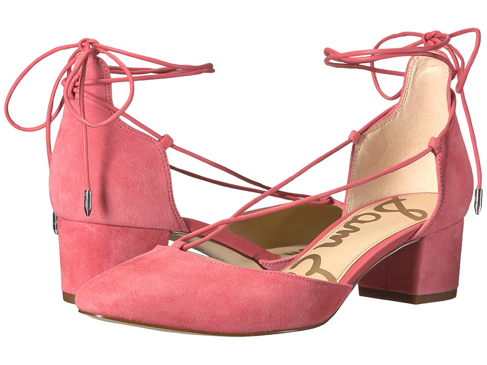 Sam Edelman - Loretta (Hot Coral) Women's Dress Sandals