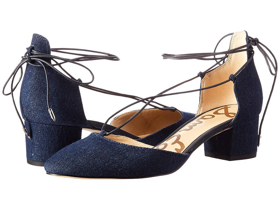 Sam Edelman - Loretta (Navy) Women's Dress Sandals