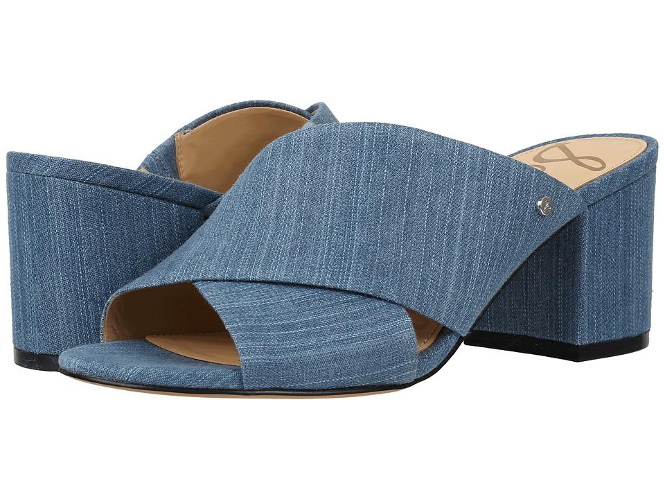 Sam Edelman - Stanley (Mid Blue) Women's Dress Sandals