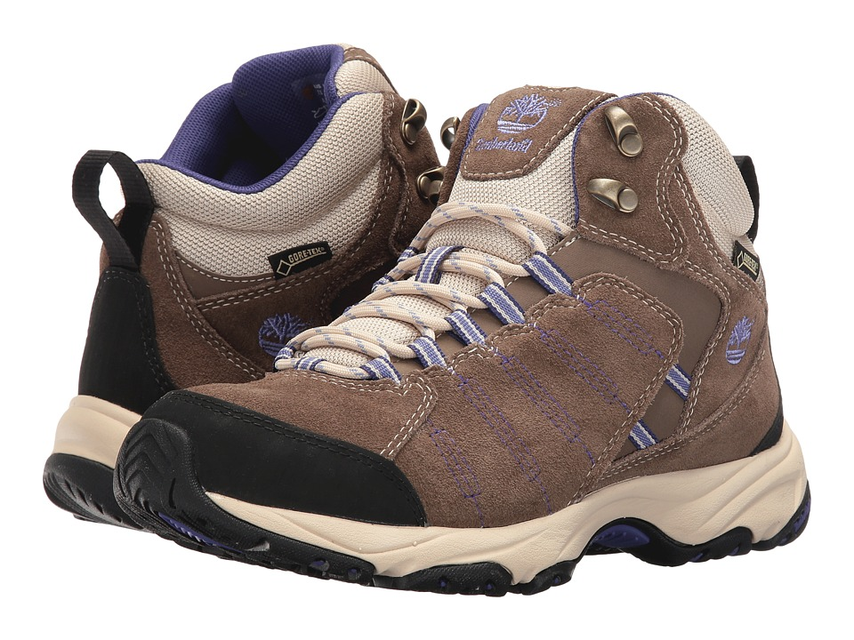 Timberland - Tilton Mid GTX (Light Brown) Women's Shoes