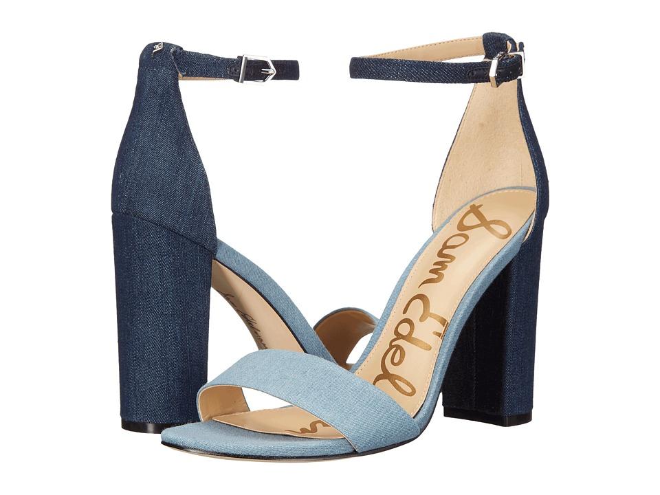 Sam Edelman - Yaro (Navy) Women's Dress Sandals