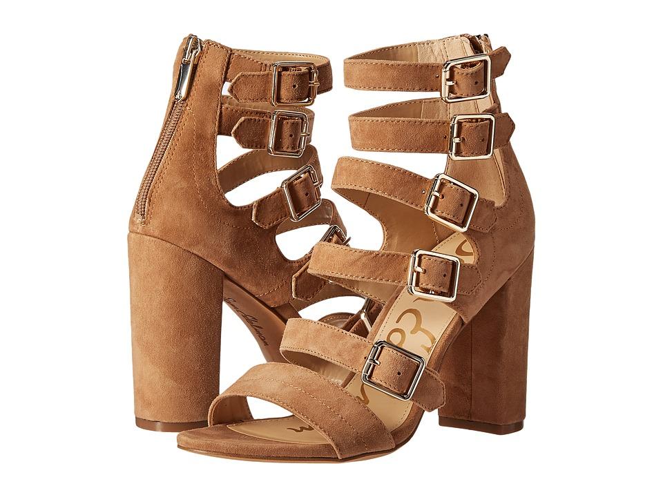 Sam Edelman Yasmina Golden Caramel Dress Sandals