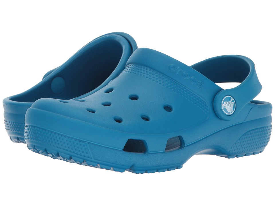 Crocs Kids - Coast Clog (Toddler/Little Kid) (Ultramarine) Kids Shoes