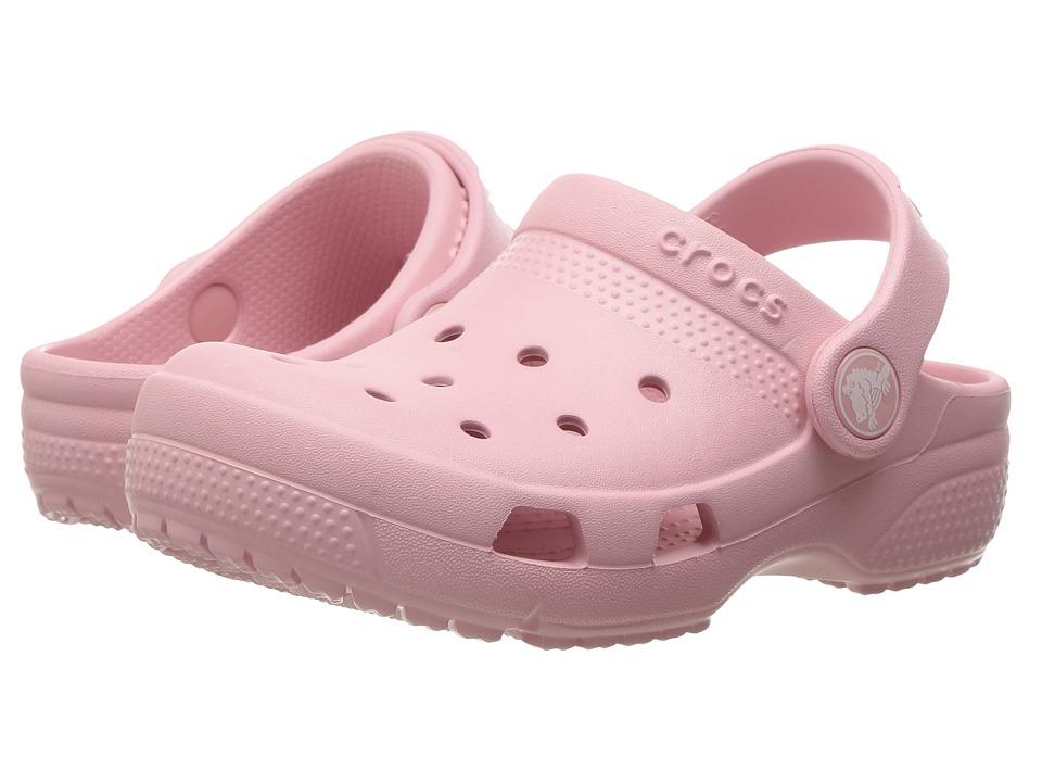 Crocs Kids - Coast Clog (Toddler/Little Kid) (Petal Pink) Kids Shoes