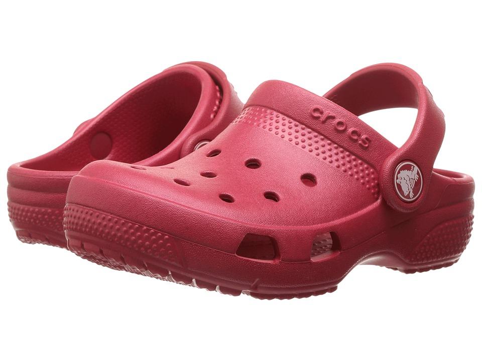Crocs Kids - Coast Clog (Toddler/Little Kid) (Pepper) Kids Shoes